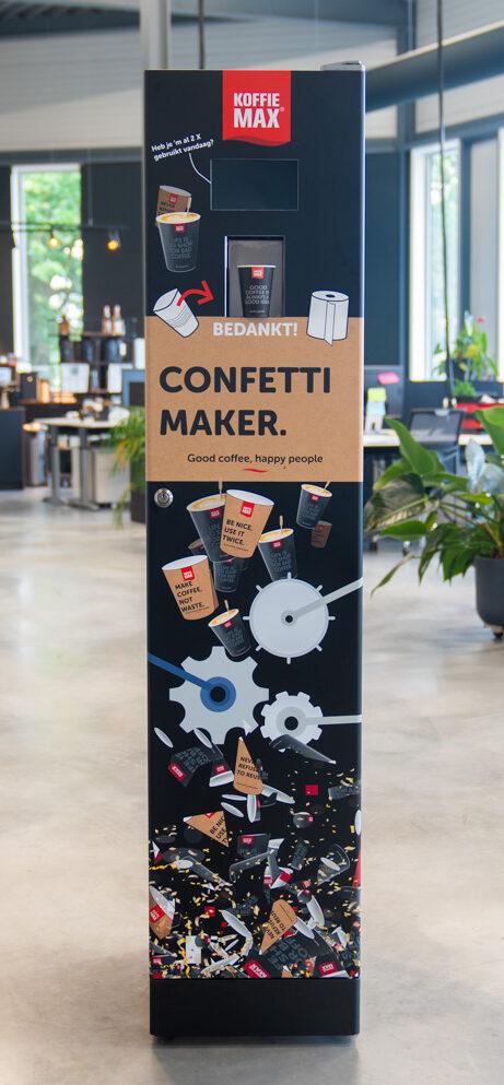 Confettimaker Koffiemax